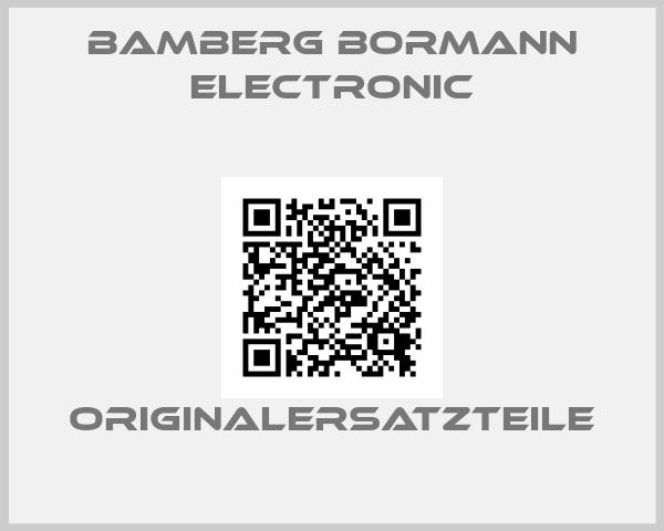 Bamberg Bormann Electronic