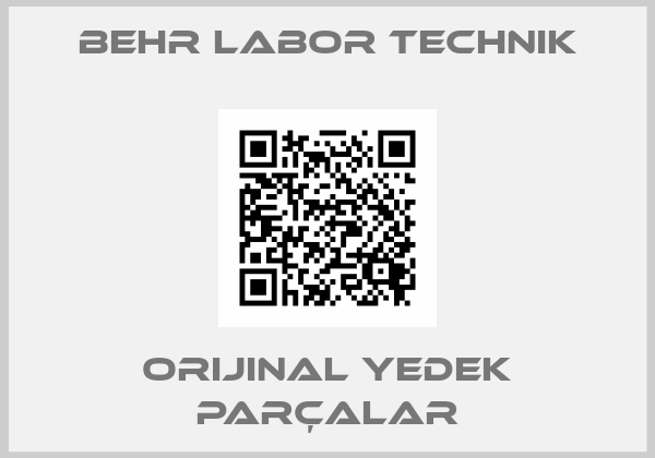 Behr Labor Technik
