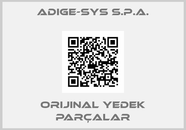 ADIGE-SYS S.P.A.