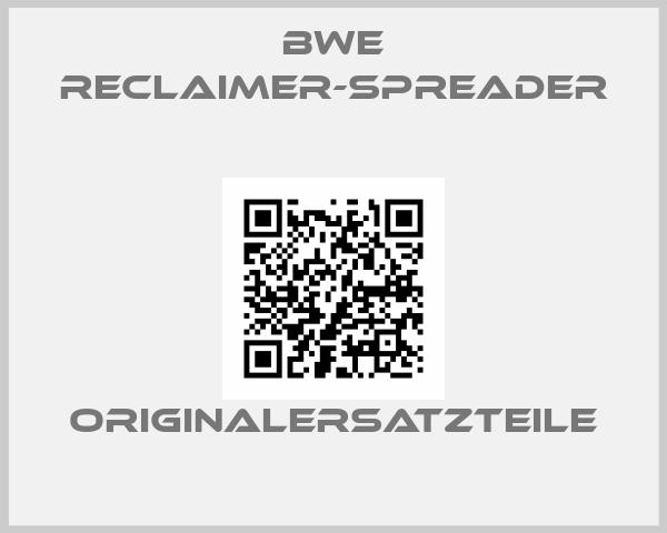 BWE Reclaimer-Spreader