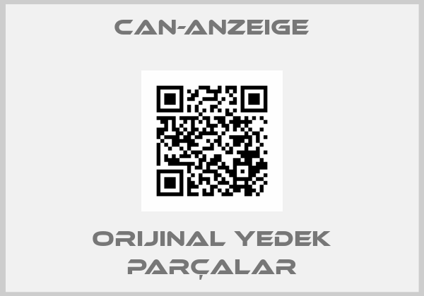 Can-Anzeige