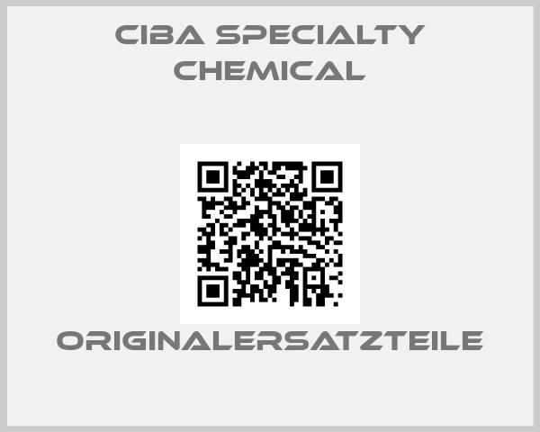 Ciba Specialty Chemical