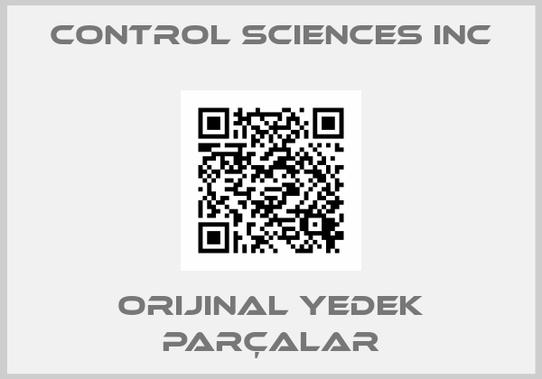 CONTROL SCIENCES INC