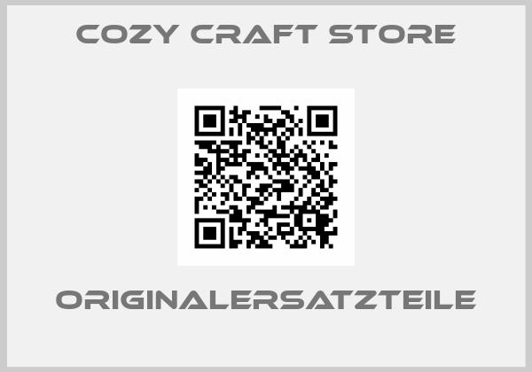 Cozy craft store