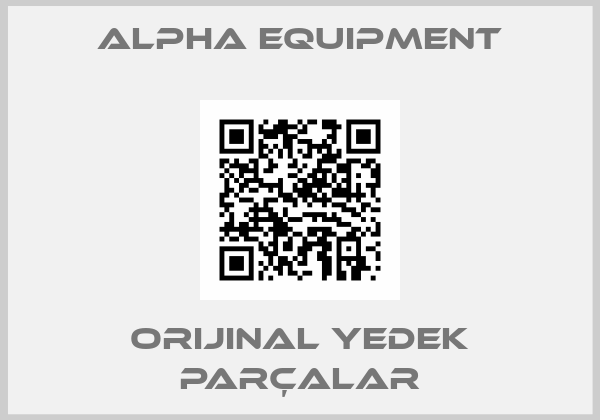 Alpha Equipment