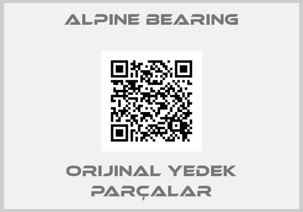 Alpine bearing