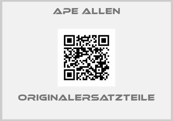 Ape Allen