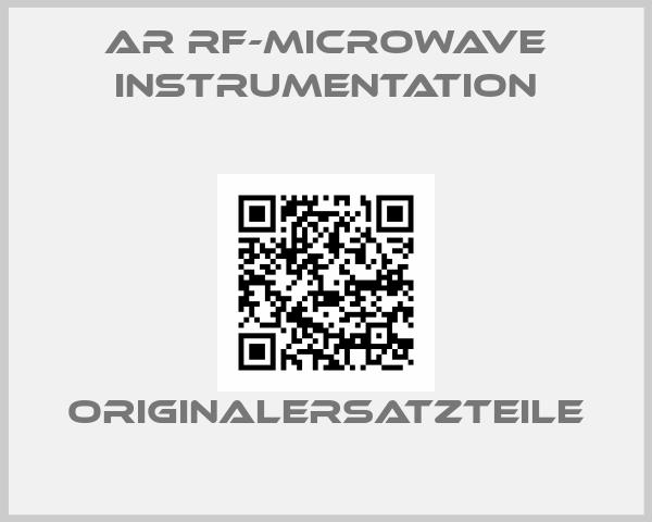 AR RF-Microwave Instrumentation